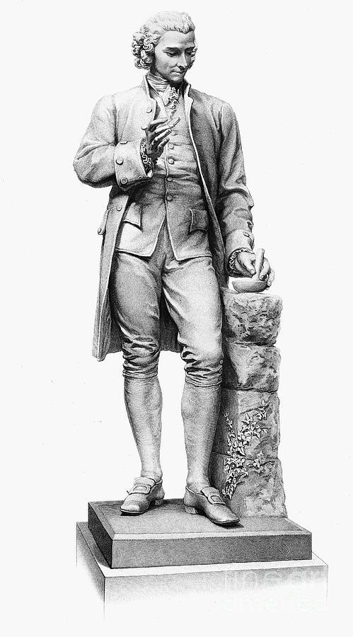 18th Century Photograph - Joseph Priestley (1733-1804) by Granger