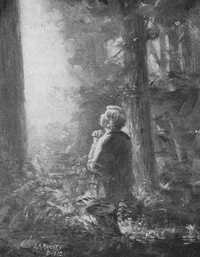 Joseph Smith Praying In The Grove Painting