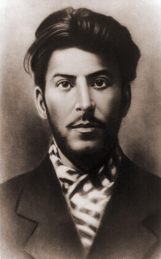 Joseph Stalin 1879-1953, In An Early Photograph  - Joseph Stalin 1879-1953, In An Early Fine Art Print