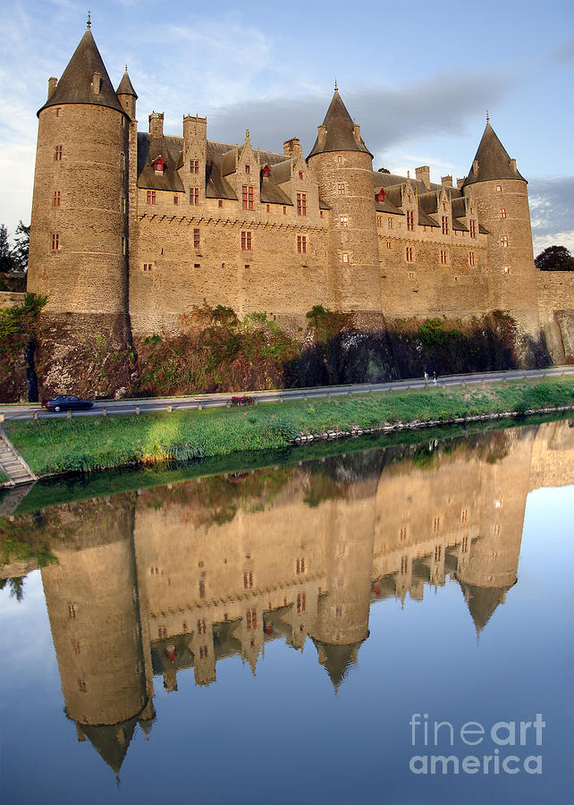 Josselin Chateau Photograph  - Josselin Chateau Fine Art Print