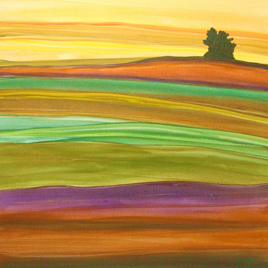 Journey Painting  - Journey Fine Art Print