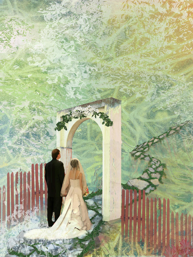 Journey Of Marriage Painting  - Journey Of Marriage Fine Art Print