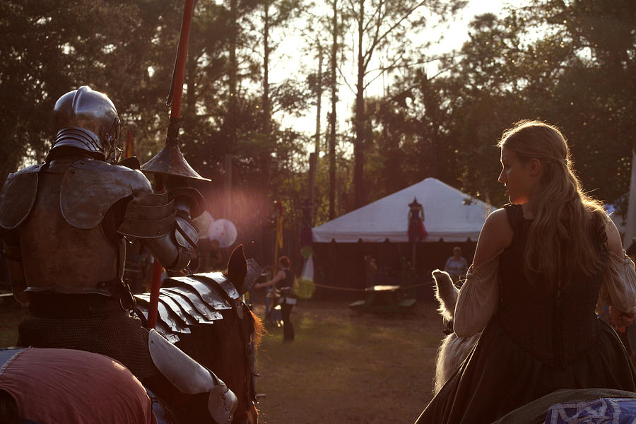 Joust One Knight Photograph