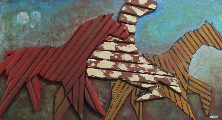 Wood Relief - Joy2 by Dedo Cristina