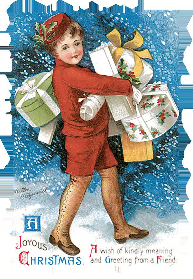 Joyous Christmas Painting