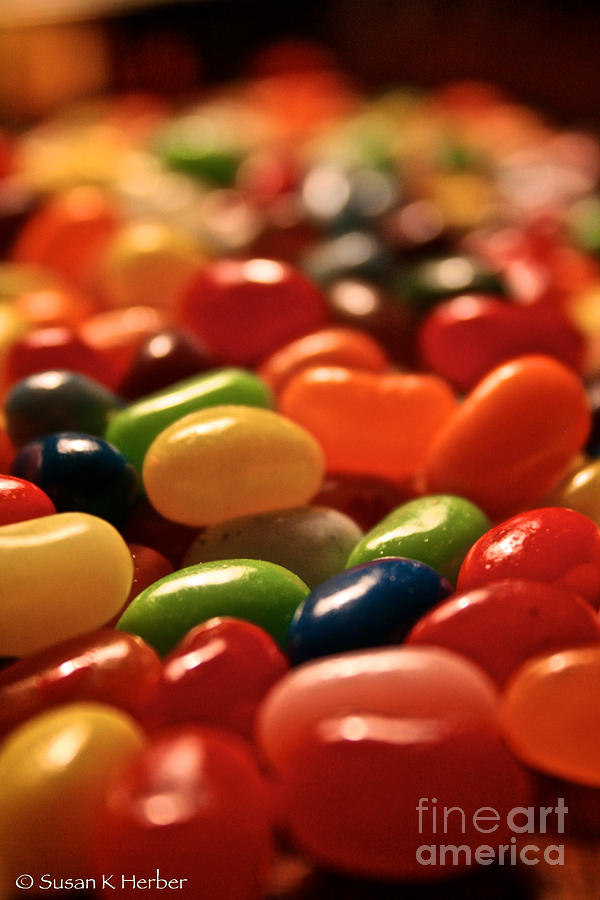 Jubilant Jelly Beans Photograph