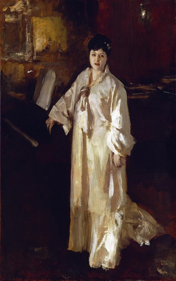 Judith Painting - Judith Gautier by John Singer Sargent