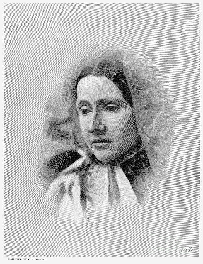 Julia Ward Howe (1819-1910) Photograph  - Julia Ward Howe (1819-1910) Fine Art Print