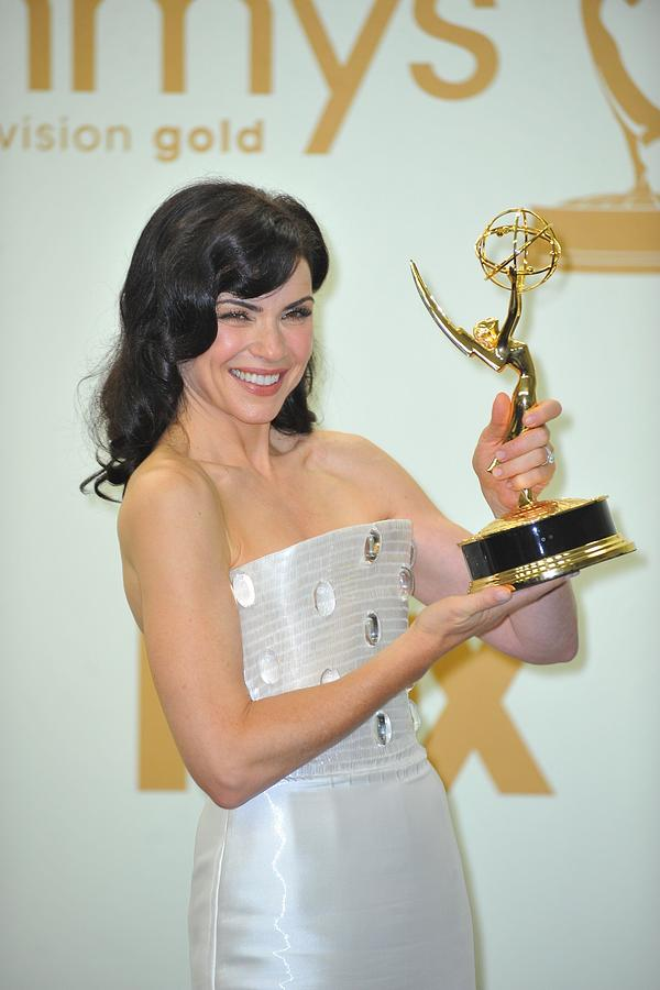Julianna Margulies In The Press Room Photograph