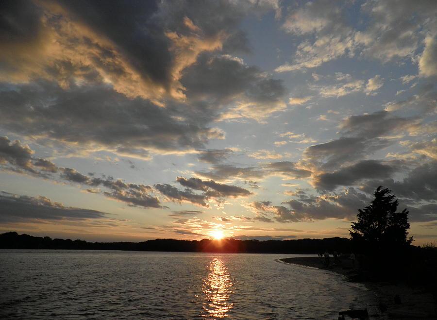 July Sunset Photograph