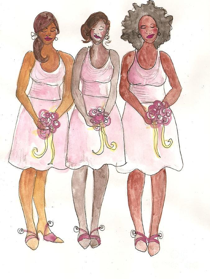 Similar Galleries: Bridesmaid Clipart , Bridesmaid Silhouette Clip Art ...