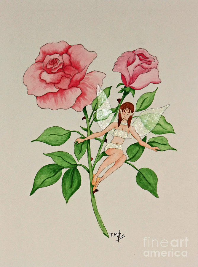 June Painting - June by Terri Mills
