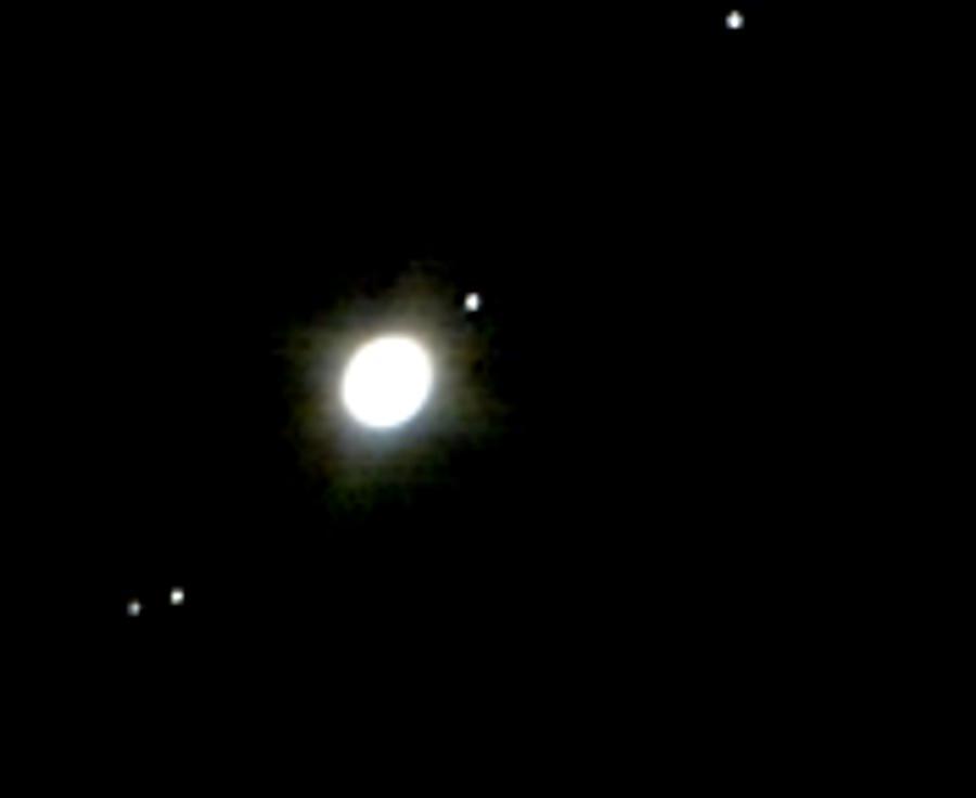 Jupiter And Its Moons Photograph