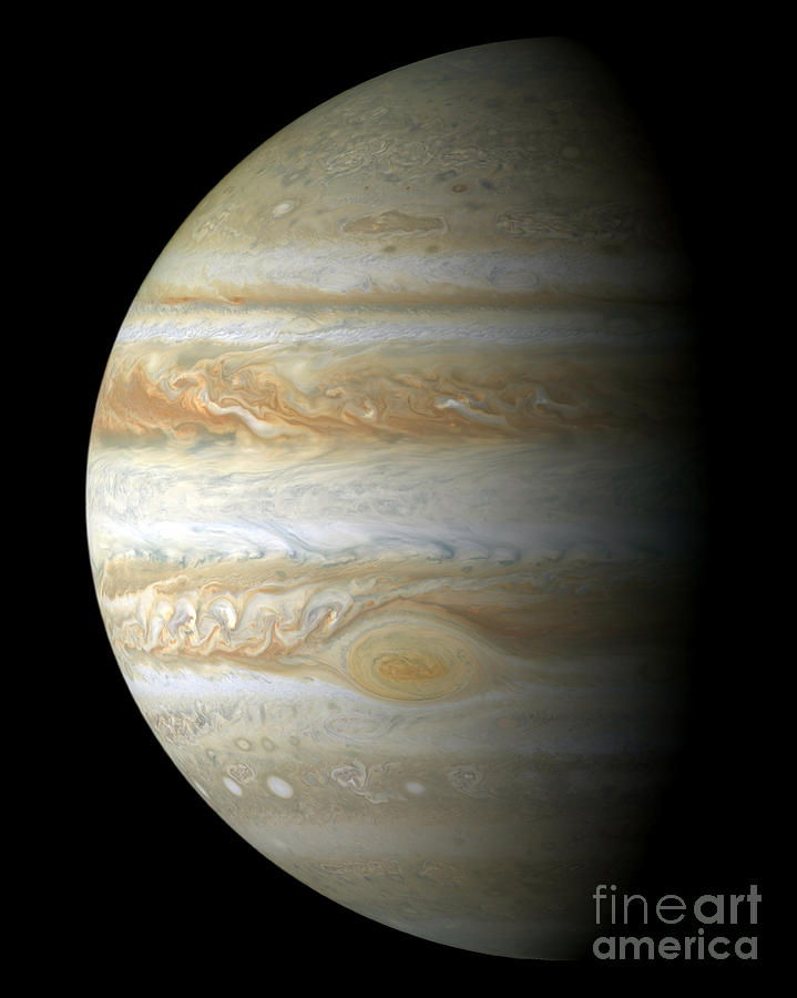 Jupiter Mosiac Photograph