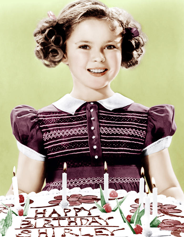 Just Around The Corner, Shirley Temple Photograph