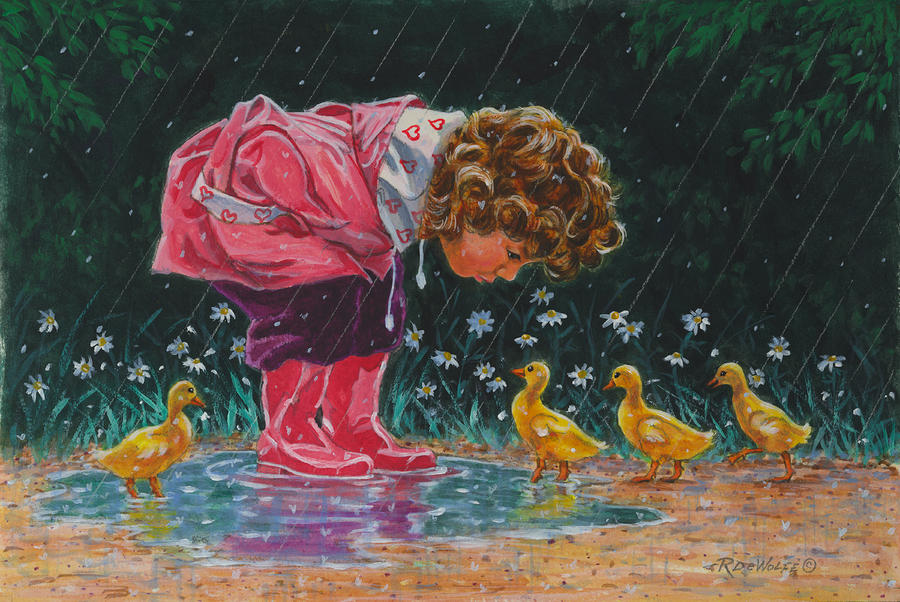Just Ducky Painting