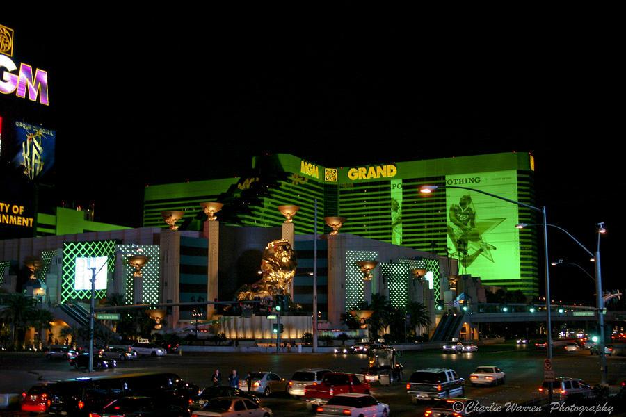 Las Vegas Photograph - Just Grand by Charles Warren