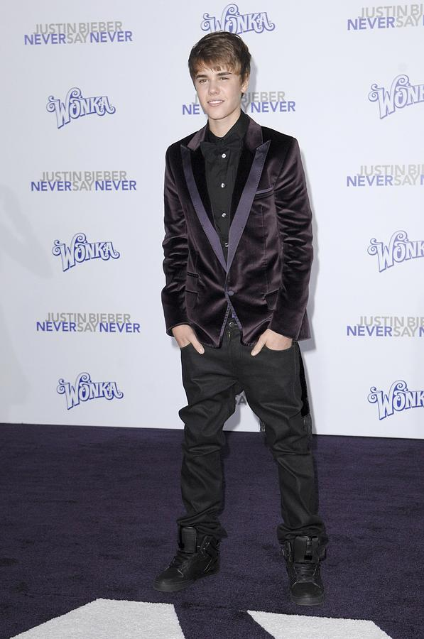 Justin Bieber At Arrivals For Justin Photograph