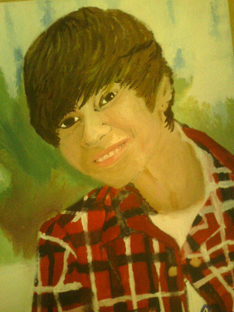 Justin Bieber Painting