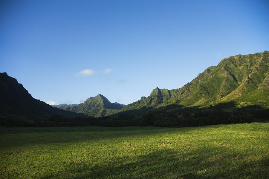 Kaaawa Valley Photograph