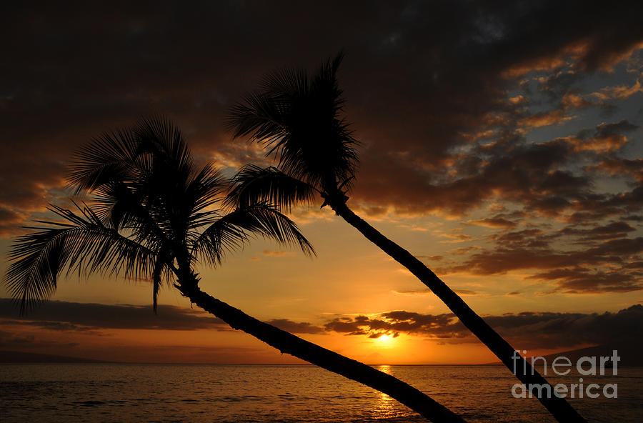 Kaanapali Beach Sunset Photograph  - Kaanapali Beach Sunset Fine Art Print