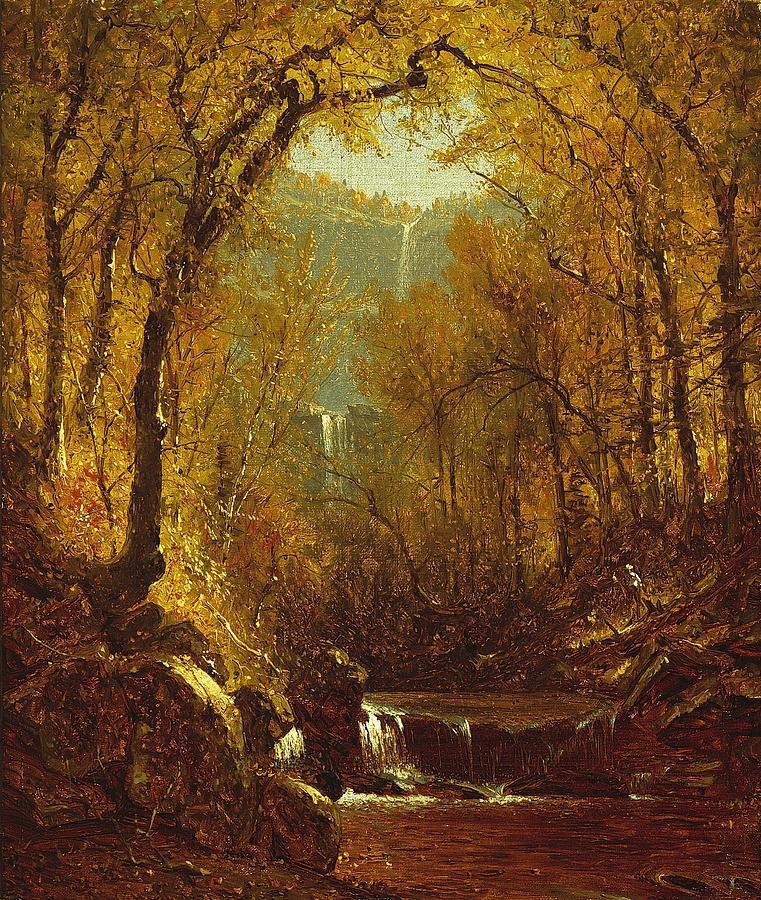 Kaaterskill Falls Painting