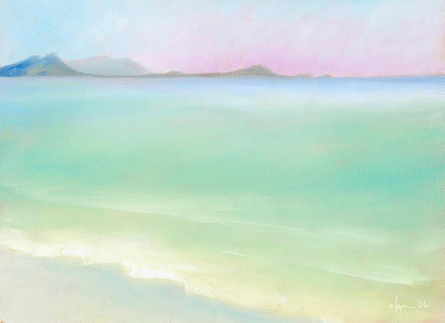 Kailua Sunrise Painting