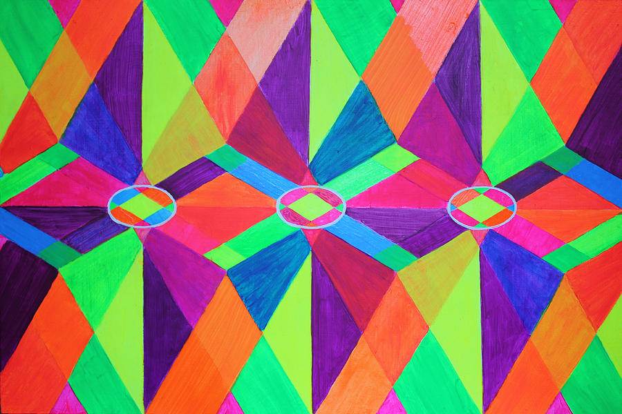 Kaleidoscope Wise Painting  - Kaleidoscope Wise Fine Art Print
