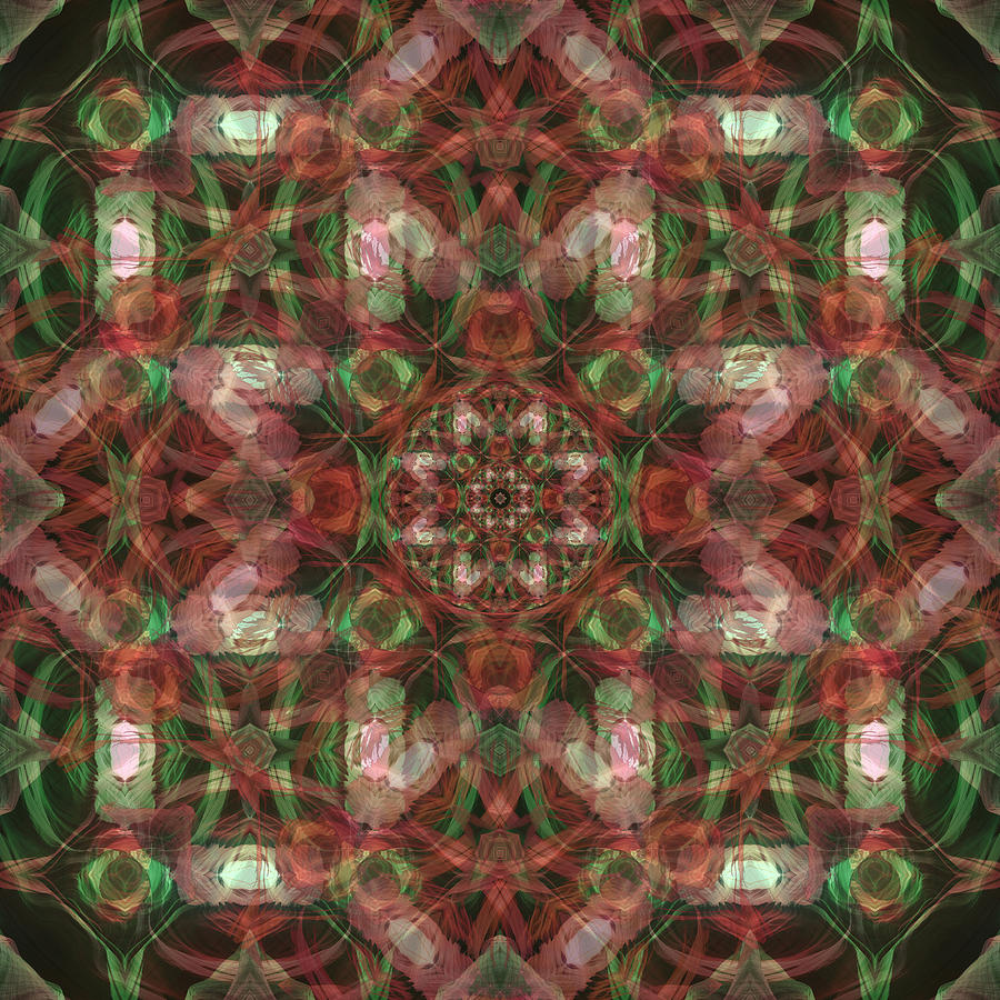 Kaleidoscopic Mandala  Photograph  - Kaleidoscopic Mandala  Fine Art Print