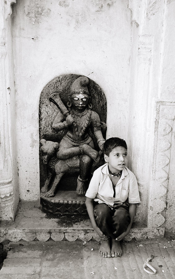 Kali In Benares Photograph  - Kali In Benares Fine Art Print
