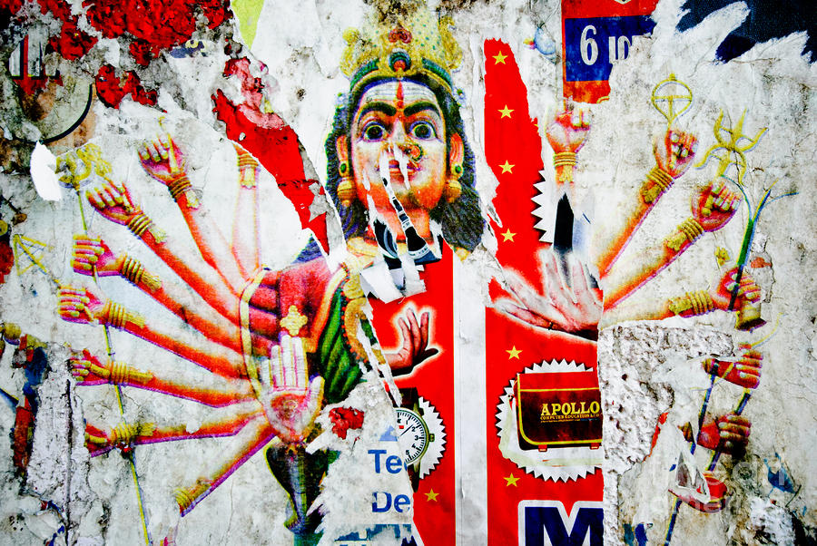 Kali Photograph - Kaliyuga by Dev Gogoi