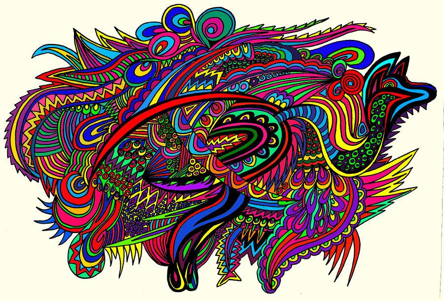 Kangadoodle Drawing
