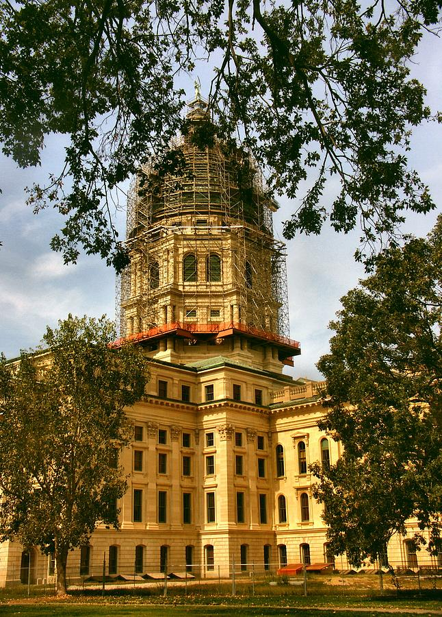 Kansas State Capitol Building Photograph