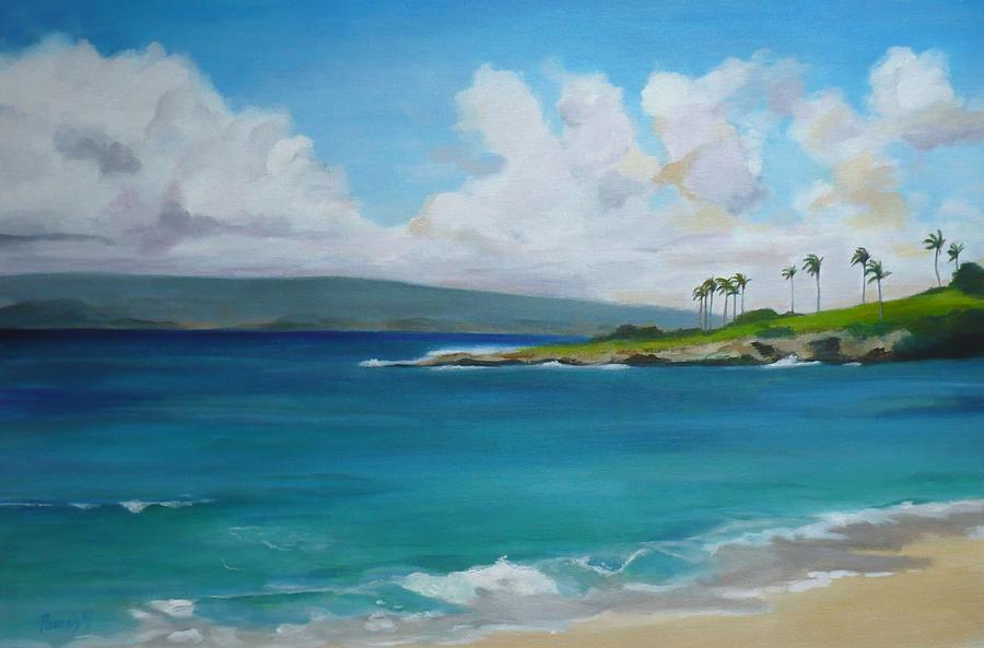 Kapalua Bay Maui Hawaii Painting