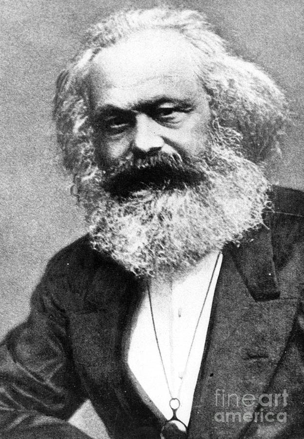 Karl Marx Painting