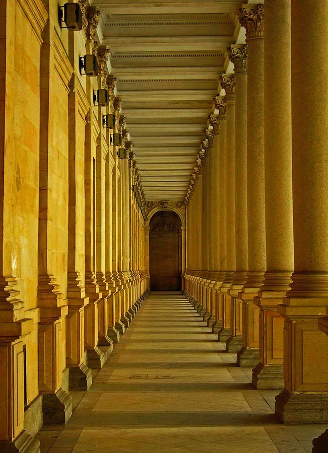 Karlovy Vary Colonnade Photograph