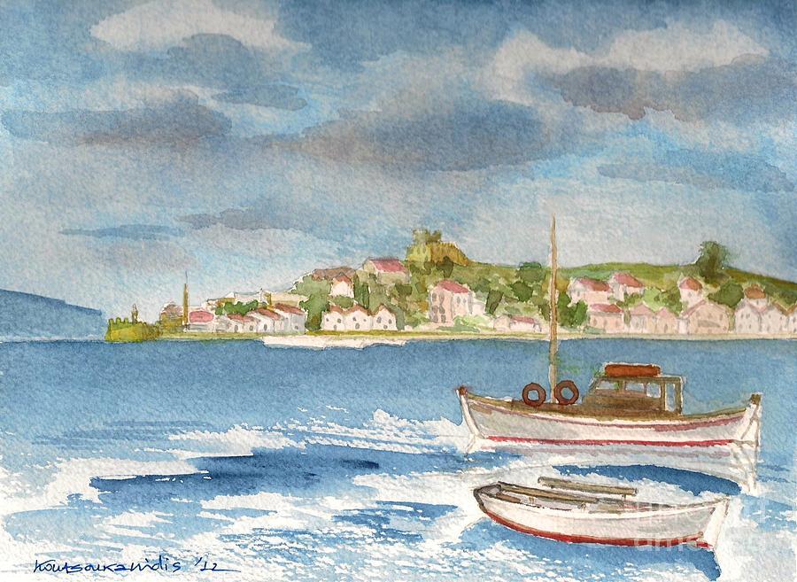 Kastelorizo Painting