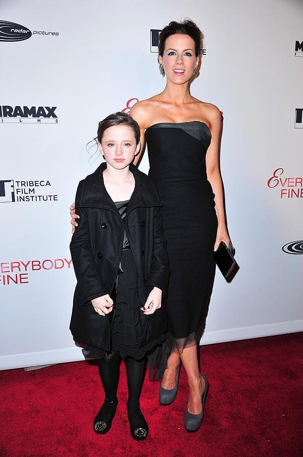 Kate Beckinsale, Daughter Lily Sheen Photograph by Everett Kate Beckinsale Daughter