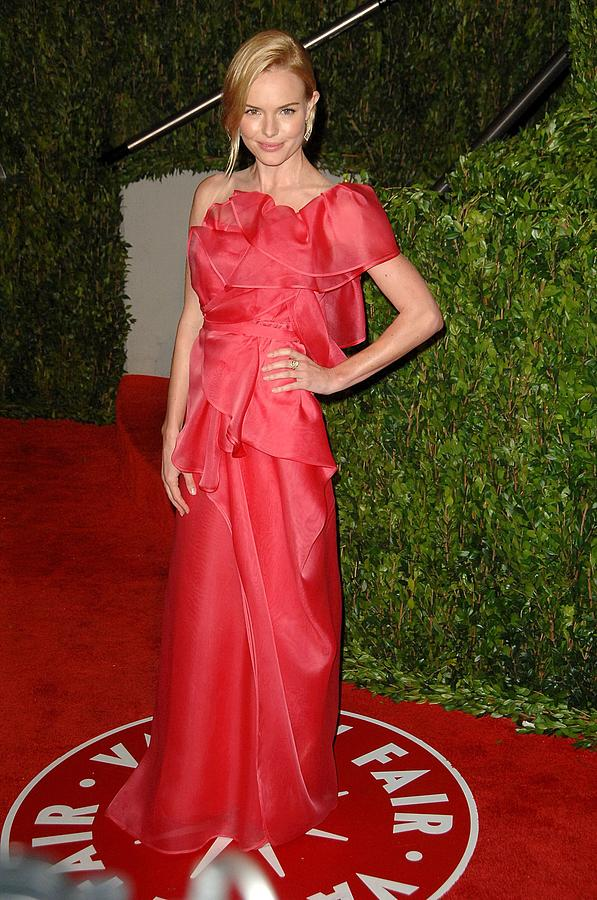 Kate Bosworth Wearing A Valentino Gown Photograph