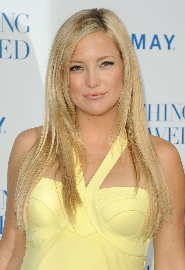 Kate Hudson At Arrivals For Something Photograph  - Kate Hudson At Arrivals For Something Fine Art Print