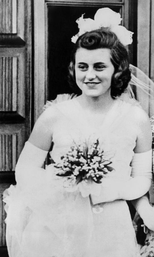 Kathleen Kennedy, In Formal Gown Photograph