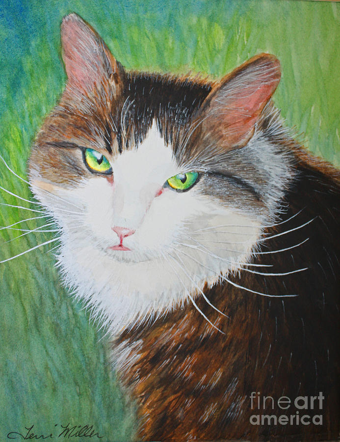Watercolor Painting - Katie by Terri Maddin-Miller