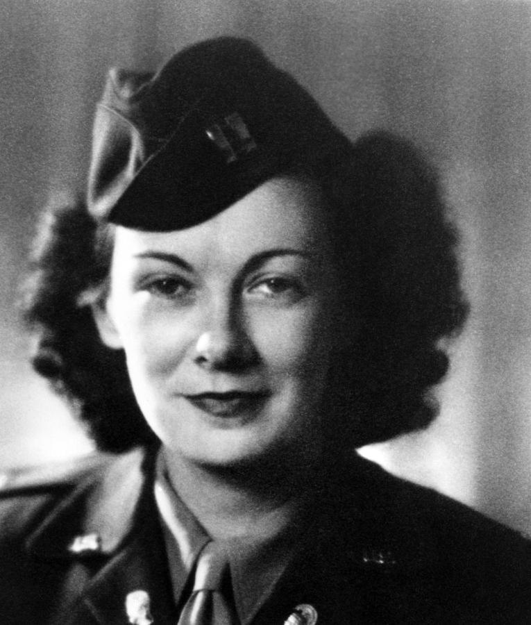 Kay Summersby Morgan Served As General Photograph  - Kay Summersby Morgan Served As General Fine Art Print