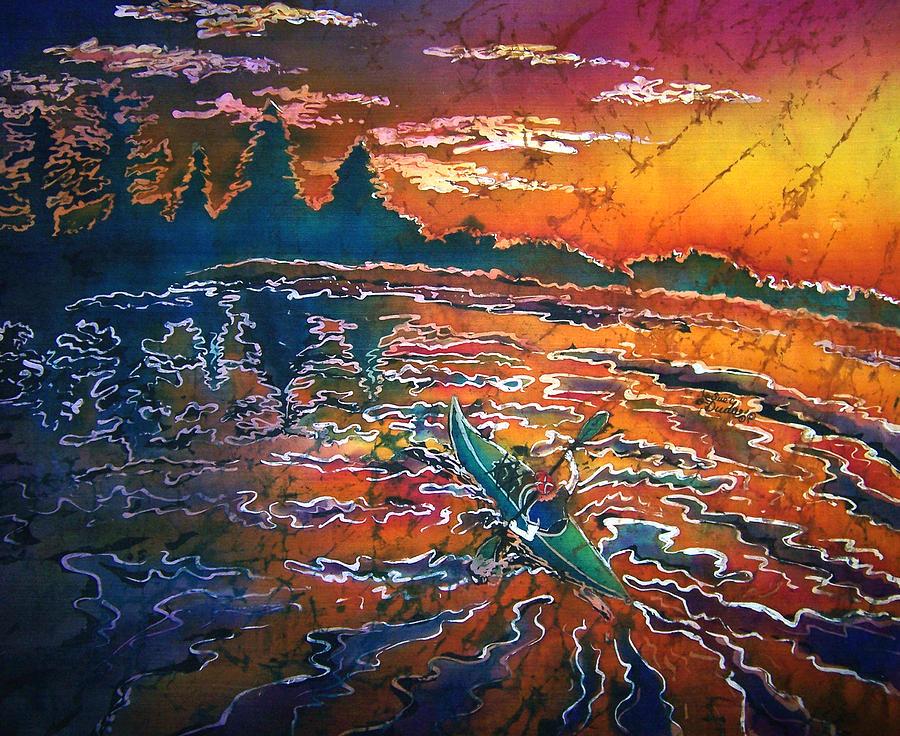 Kayak Serenity  Painting