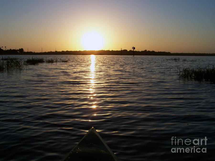 Kayaking Dawn Photograph