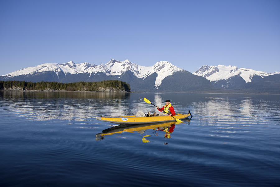 Kayaking Favorite Passage Photograph  - Kayaking Favorite Passage Fine Art Print