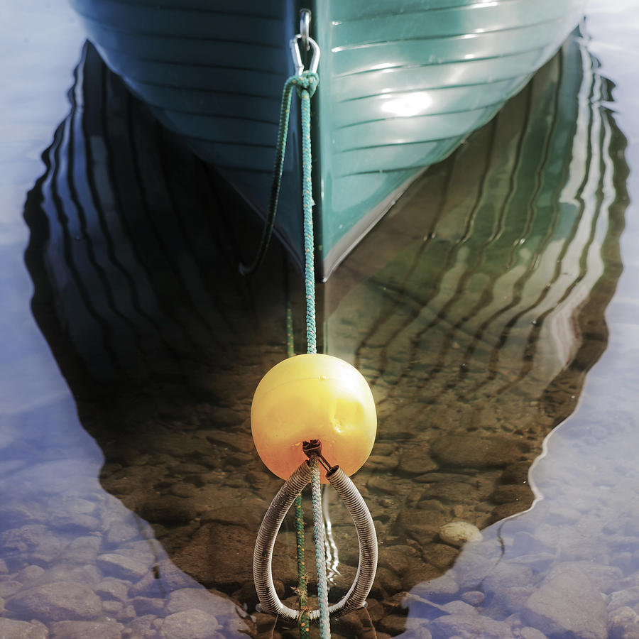 Keel Of A Boat Photograph