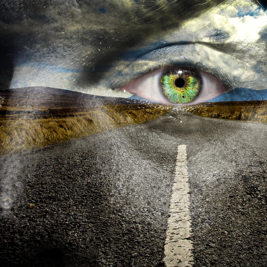 Art Photograph - Keep Your Eyes On The Road by Semmick Photo