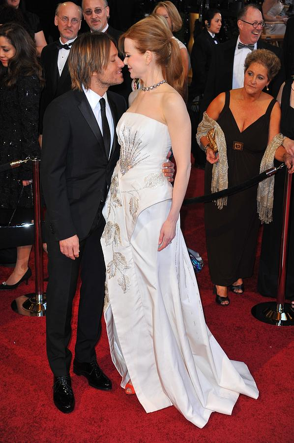 Keith Urban, Nicole Kidman At Arrivals Photograph