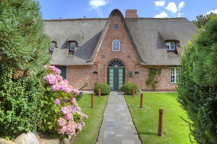 Frisian House Photograph - Keitum - Sylt by Joana Kruse